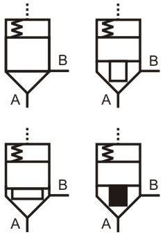 hydraulic logic valve symbols control system symbols logic control diagram symbols #48